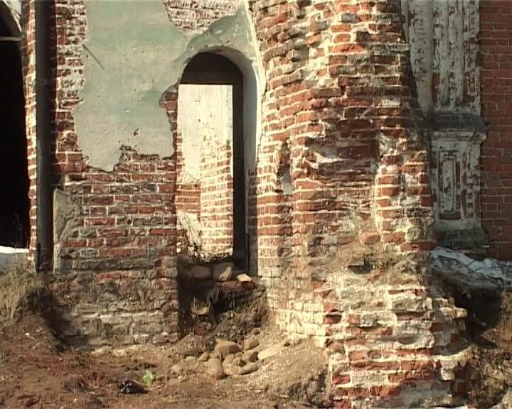 Восстановление Троицкой церкви в селе Медяны Юрьянского района