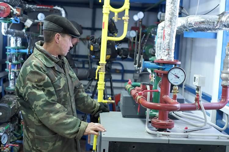 В Уржумском районе открыли новую газовую котельную.