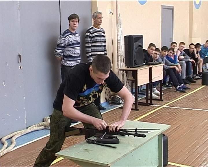 Соревнования по военно-спортивному многоборью в школе № 47