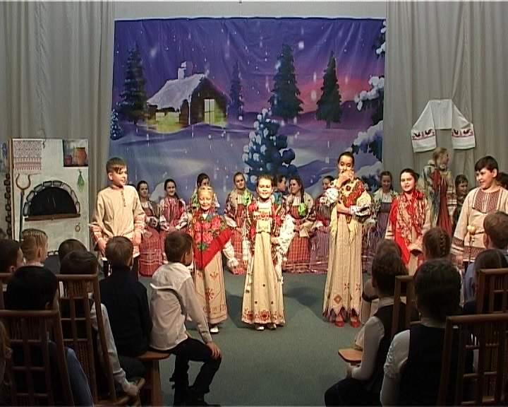 Зимние святки в детской филармонии