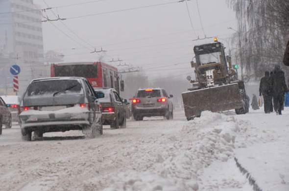 В Кировской области объявлено метеопредупреждение из-за снегопадов.