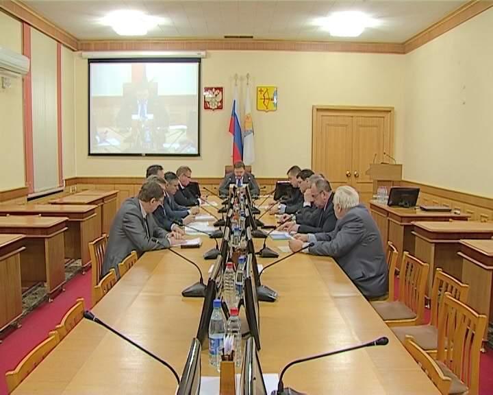 Губернатор Никита Белых провел совещание по вопросам содержания дорожной сети