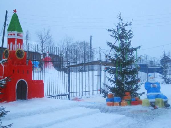 В исправительных учреждениях Кировской области прошел конкурс снежных фигур.