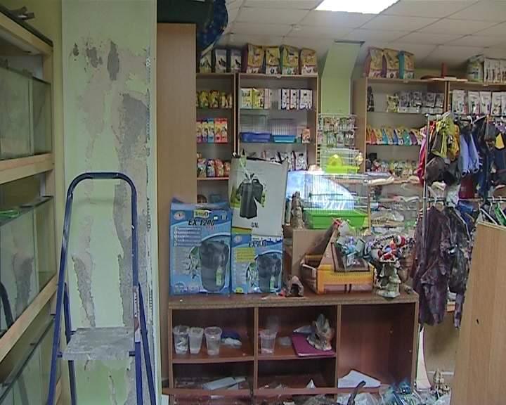 В Кирове зоомагазин затопило кипятком.