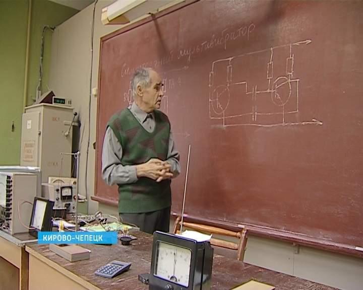 Учитель из Кирово-Чепецка А. Кулаков