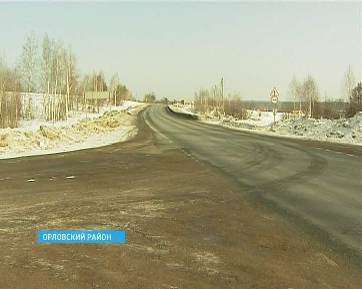 Опасная дорога в Орловском районе