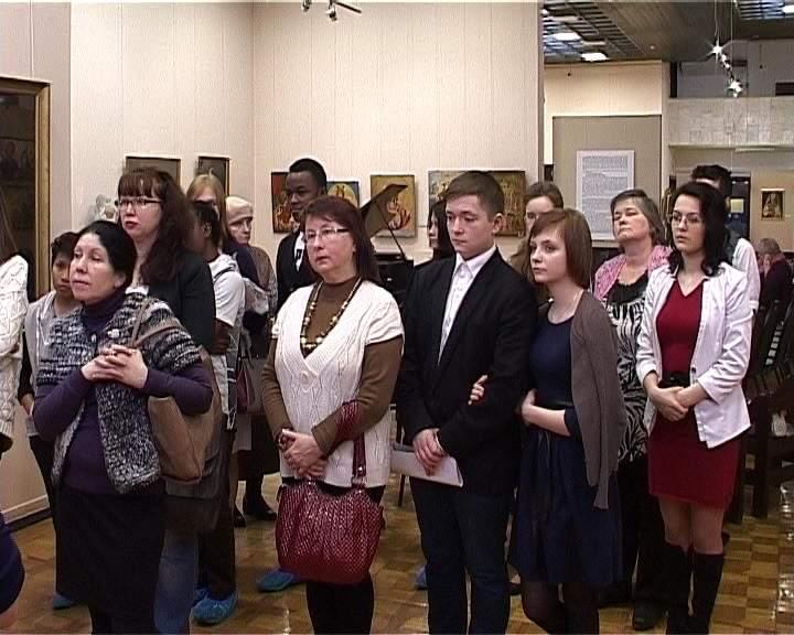 Закрытие выставки, посвященной женским образам, в Вятском художественном музее