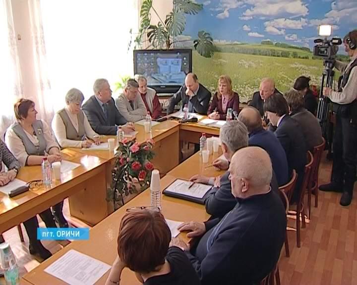 Выездное заседание комитета ОЗС в п. Стрижи.