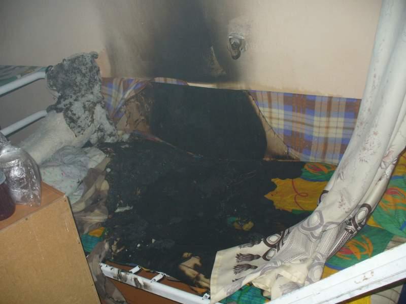 В Яранске произошел пожар в общежитии.