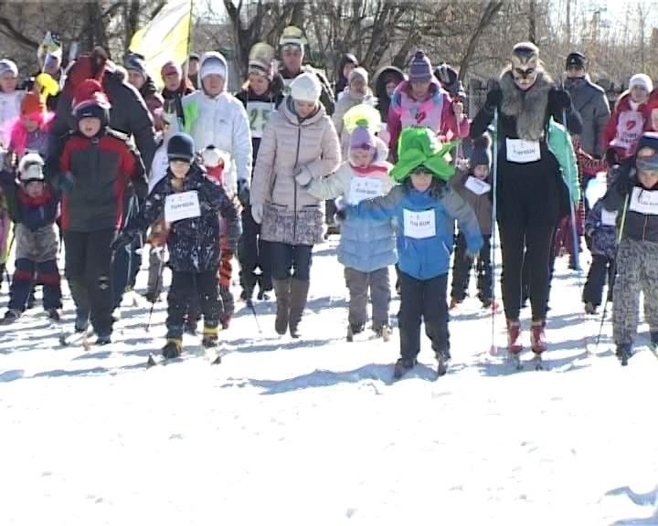 Лыжная мультигонка Fun-Run детей с особенностями развития