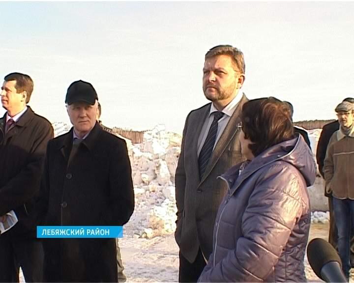Глава региона Никита Белых посетил Лебяжский район