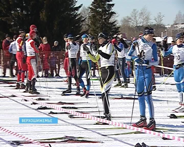 В Верхошижемье состоялся традиционный марафон лыжников