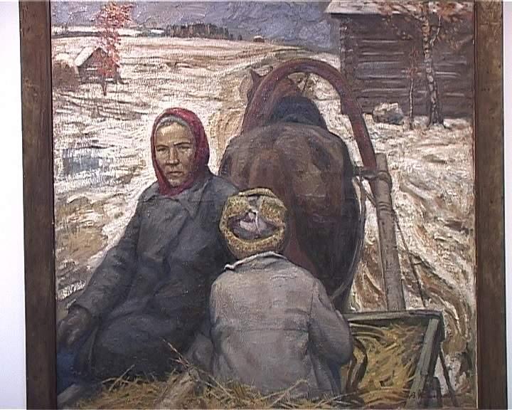 Выставка заслуженного художника России Виктора Кашина