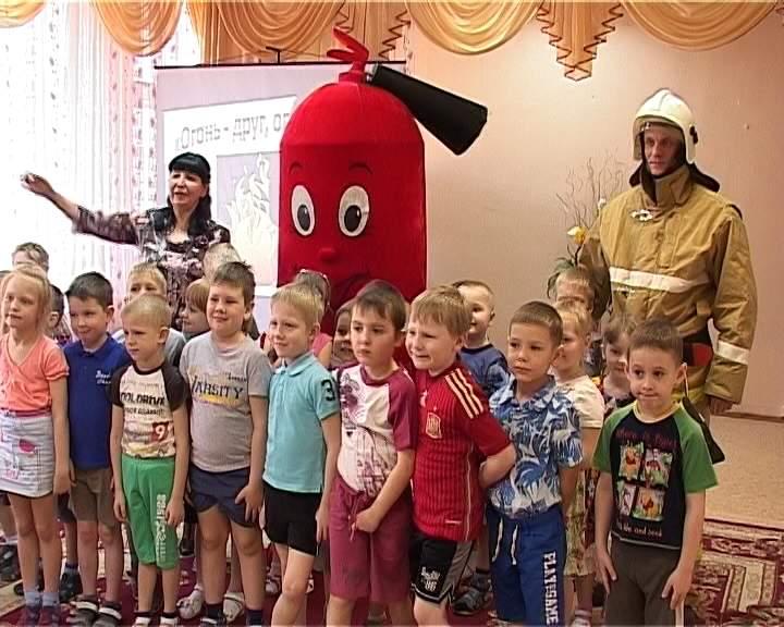 Урок пожарной безопасности в детском саду №31 города Кирова