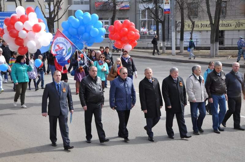 1 Мая в Кирове прошли шествие и митинг профсоюзных организаций.