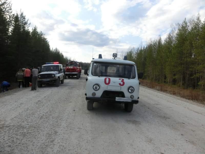 В Опаринском районе съехал в канаву ВАЗ-21099.