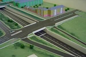 Проект путепровода в микрорайон Чистые пруды города Кирова переделают.
