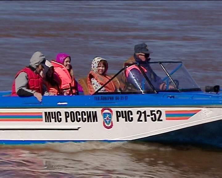 Открытие навигации на реке Вятке