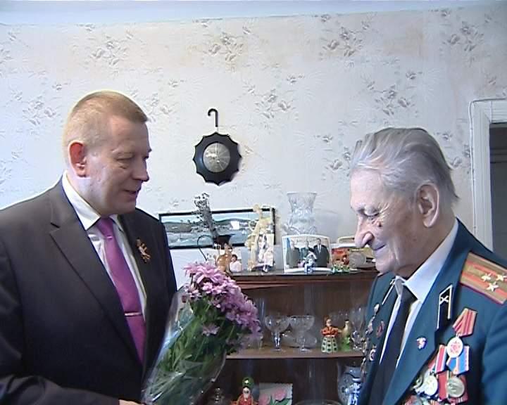 Участник Парада Победы 1945 года - Николай Аношко