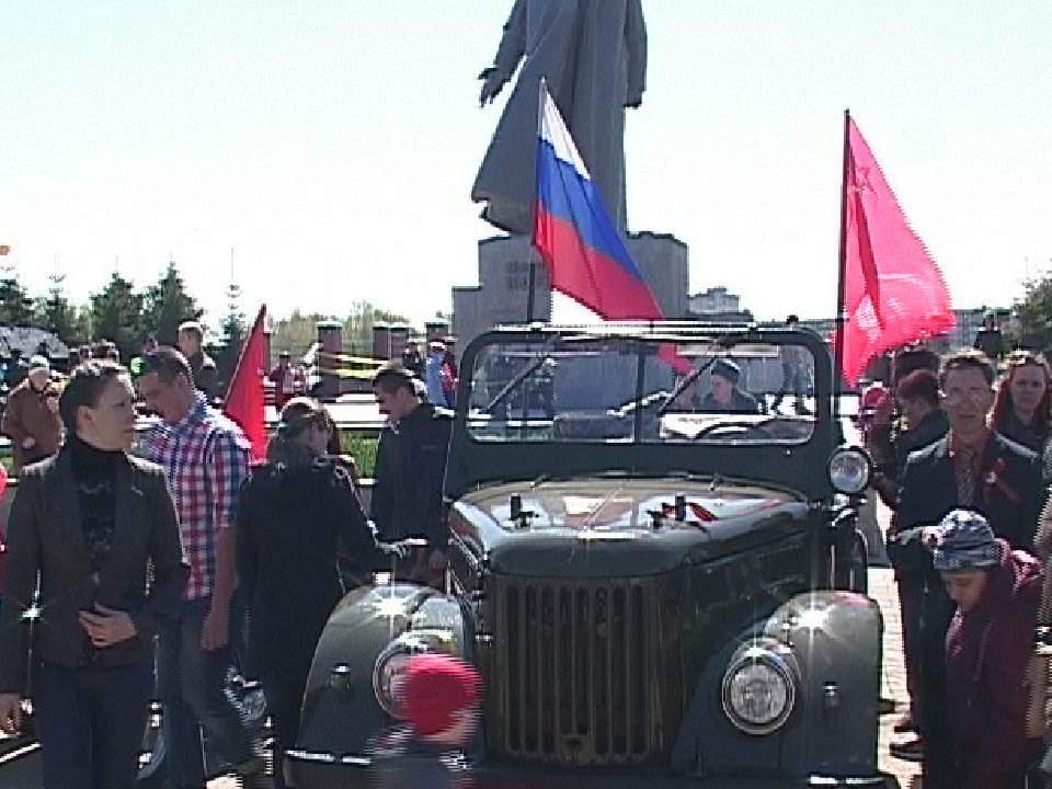 9 мая в Кирове прошел автопробег ретро-автомобилей.