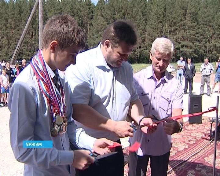 Никита Белых на открытии лыжной базы и Многофункционального центра в Уржуме В...