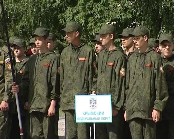 Кировчане вошли в тройку лидеров лагеря «Гвардеец-2»
