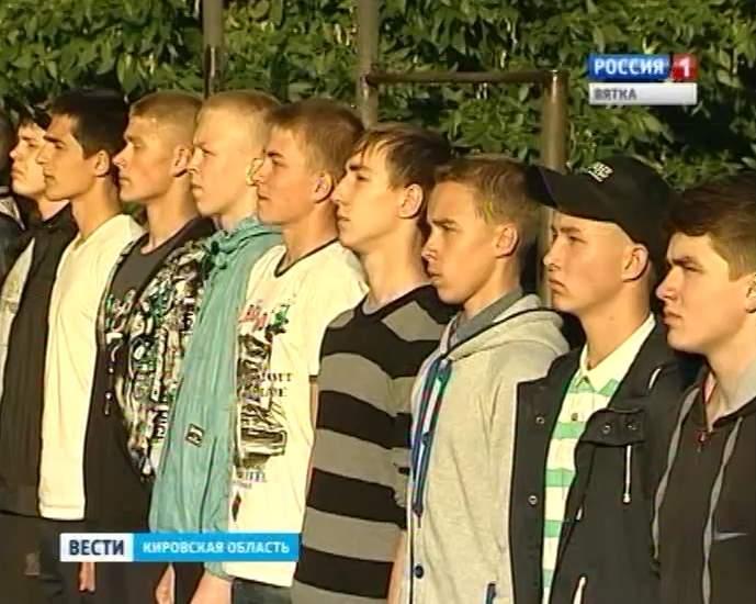 Владимир Климов провожает гвардейцев