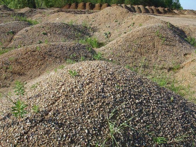 В Кирово-Чепецком районе незаконно добывали полезные ископаемые.