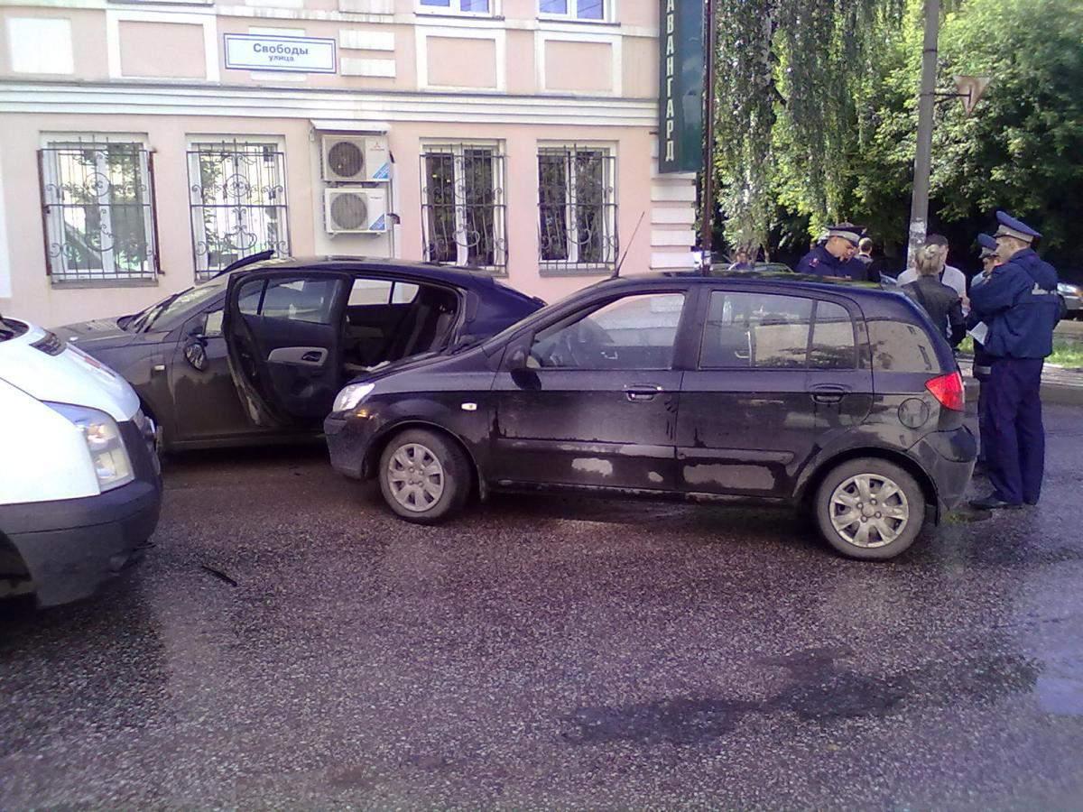 Пострадали те, кто не был защищен кузовом автомобиля