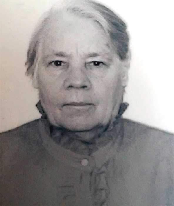 Полиция разыскивает 82-летнюю жительницу Зуевского района