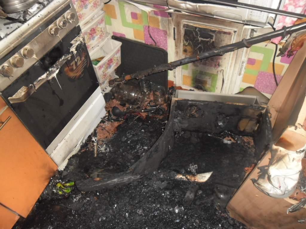В слободе Корчемкино произошел пожар в квартире.