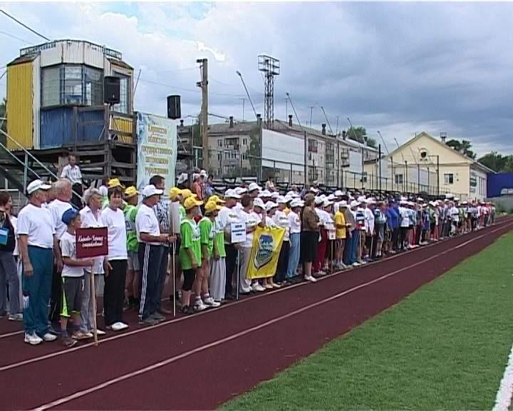 Фестиваль ветеранов спорта