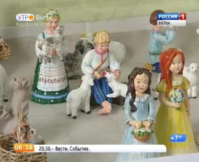 Мастерица глиняной игрушки Нина Серебренникова