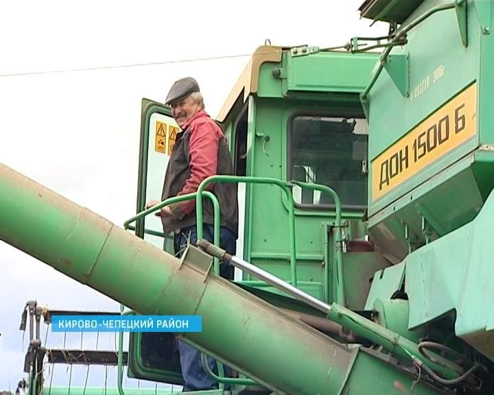 Сельхозпредприятия области продолжают уборку зерновых