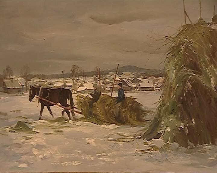 Выставка Юрия и Елизаветы Васнецовых