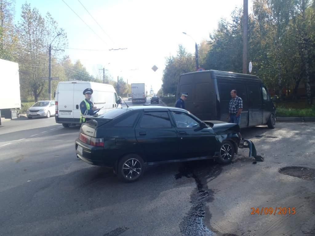 В Кирове на улице Ломоносова
