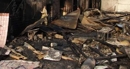 В Кировской области за сутки сгорели две пилорамы.