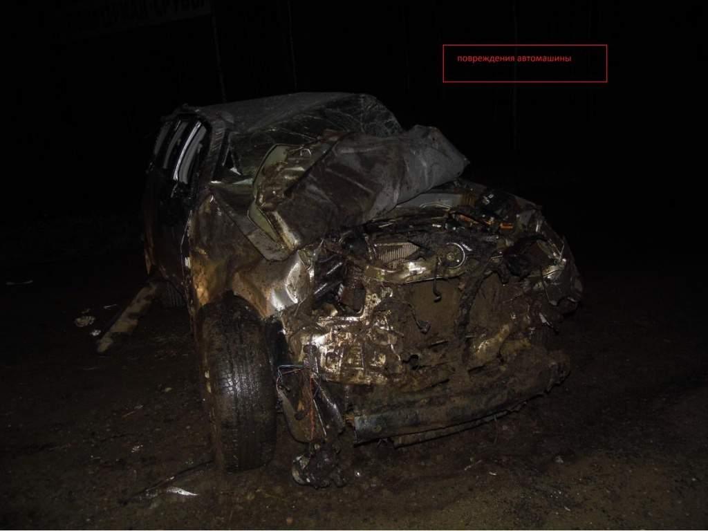 В Орловском районе в кювет улетела иномарка: водитель погиб.