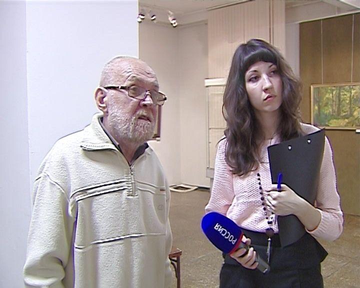 Выставка Игоря Румянцева в Выставочном зале художественного музея