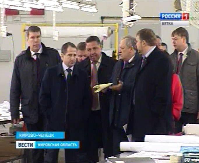 Визит полпреда Президента России в ПФО Михаила Бабича на МЦ-5