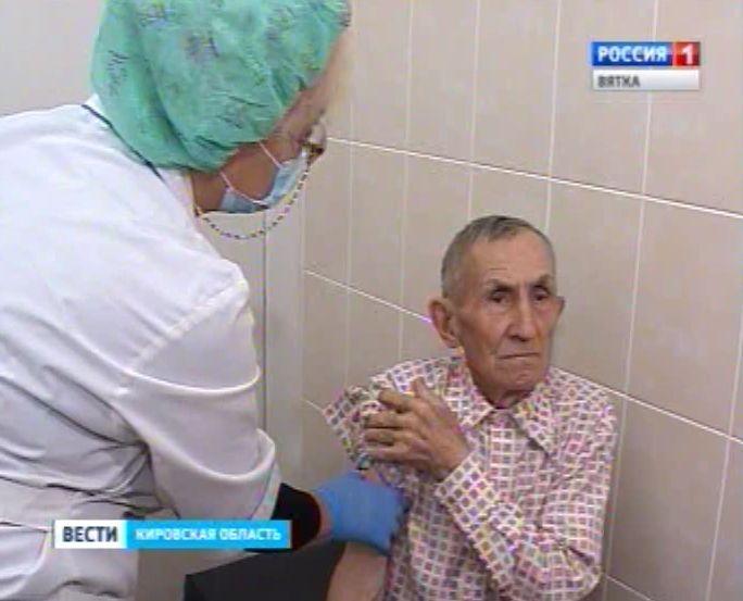 В Кировской области продолжается иммунизация населения от гриппа
