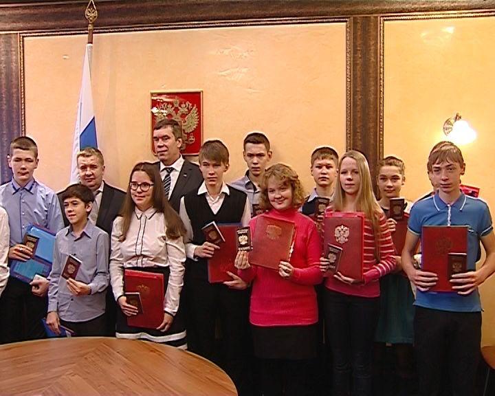 Вручение паспортов юным кировчанам