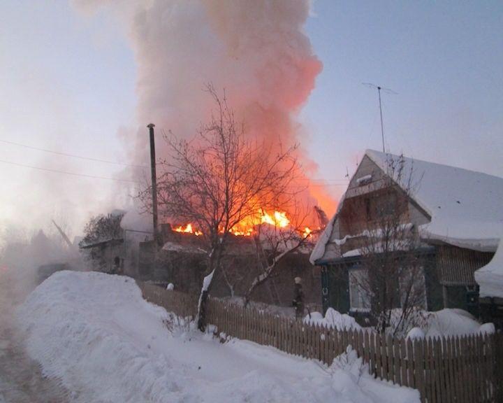 Рейд по домам с печным отоплением в поселке Новом