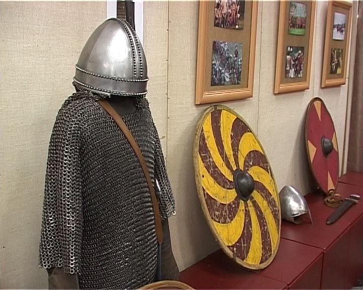 Выставка реконструкции Эпохи викингов в Слободском краеведческом музее