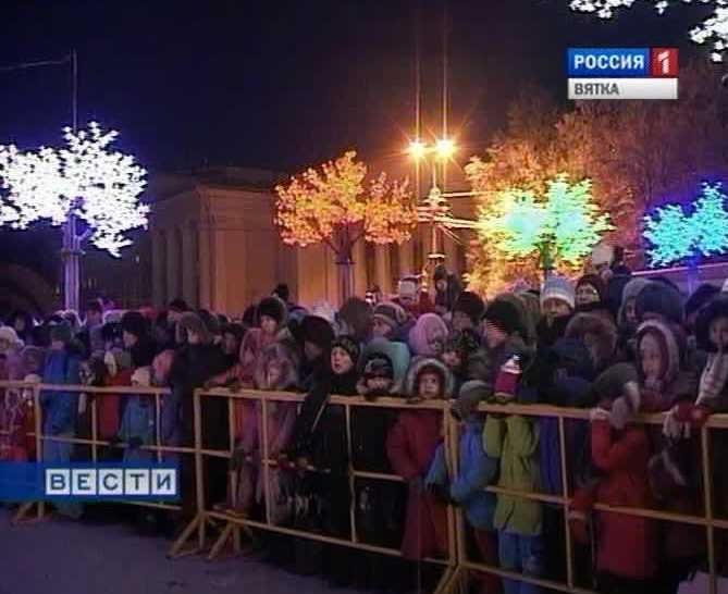 В Кирове объявлен конкурс на лучшее новогоднее оформление
