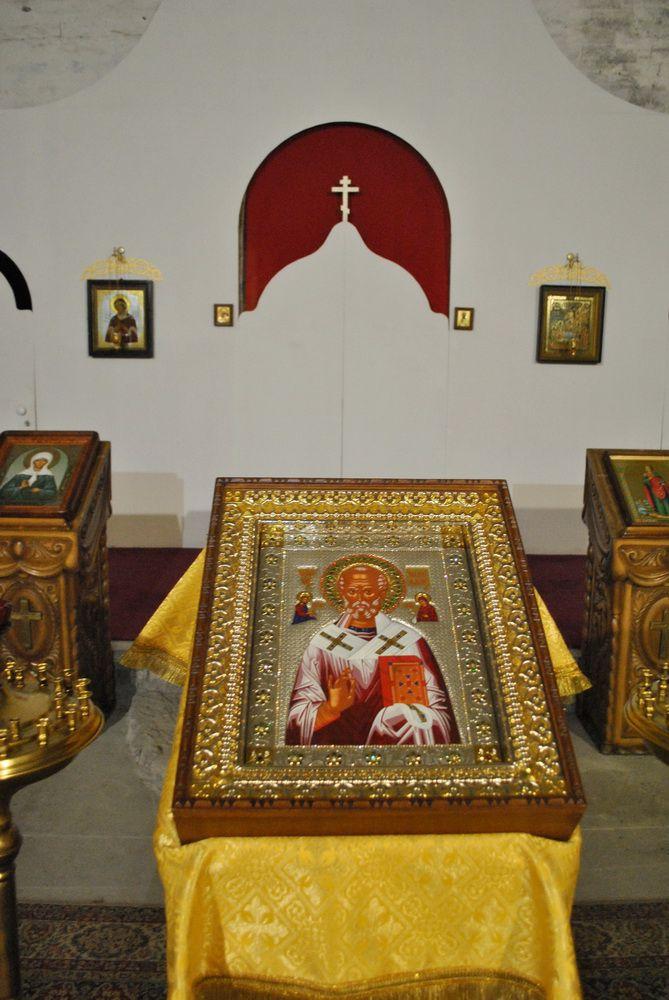 В Никольский храм Слободского привезена икона из г. Бари