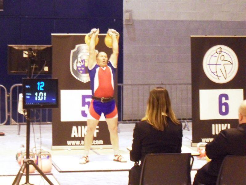Кировчанин Сергей Зорин стал призером Чемпионат мира по гиревому спорту среди ветеранов.