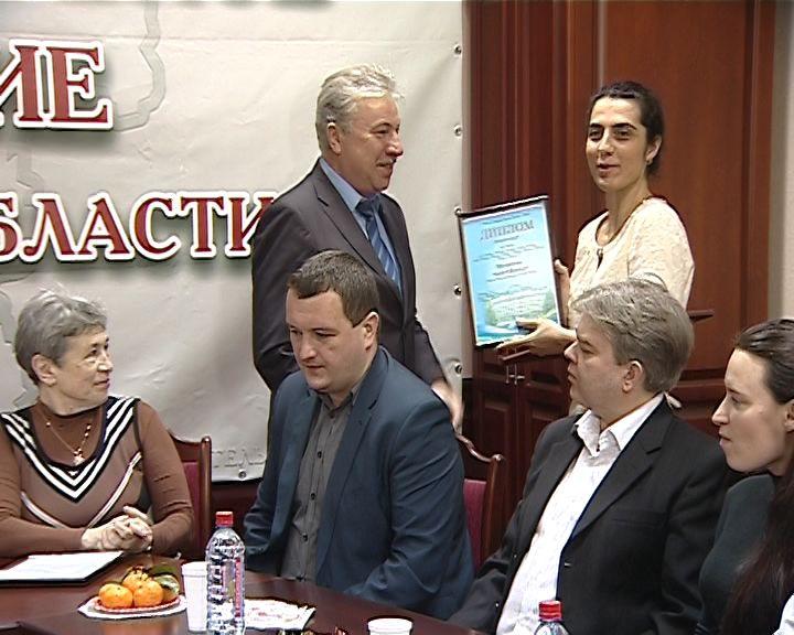 Журналист ГТРК ВЯТКА Вергина Матевосян - Лауреат конкурса «Парламентаризм на Вятке»