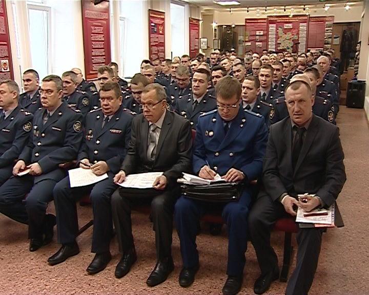 Коллегия по итогам года в кировском УФСИН