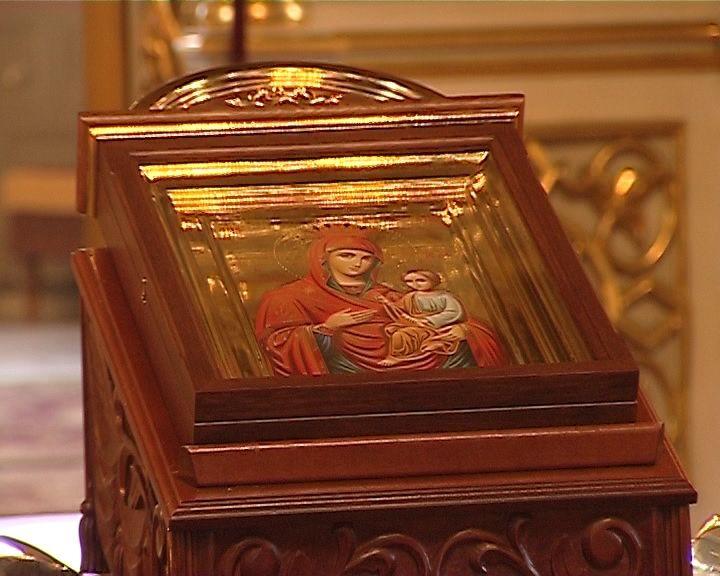 В Киров прибыла икона Божьей Матери
